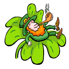 Right-hand leprechaun